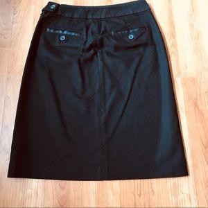 Banana Republic Skirts - Banana Republic black skirt Sz 0